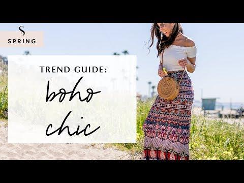 How To Dress Boho Chic For Spring 2019 I Sydne Summer