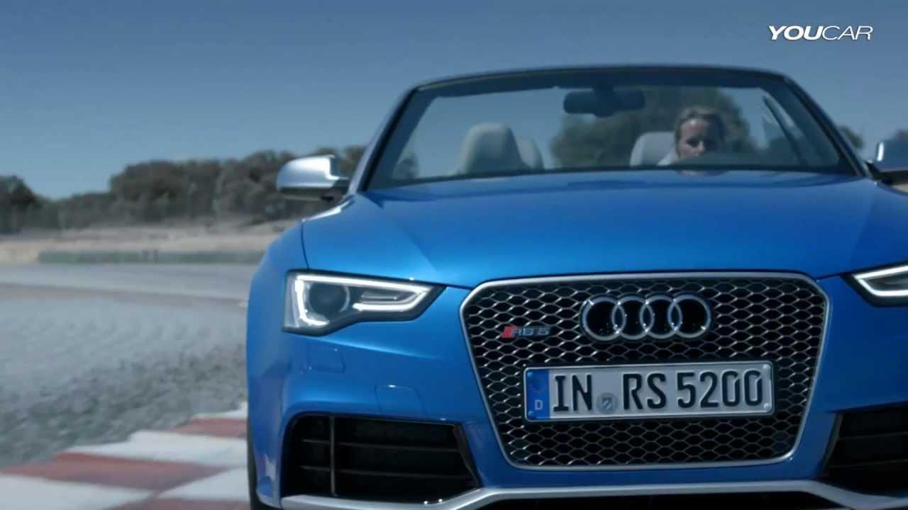 2013 Audi Rs5 Convertible Insane Sound Youtube