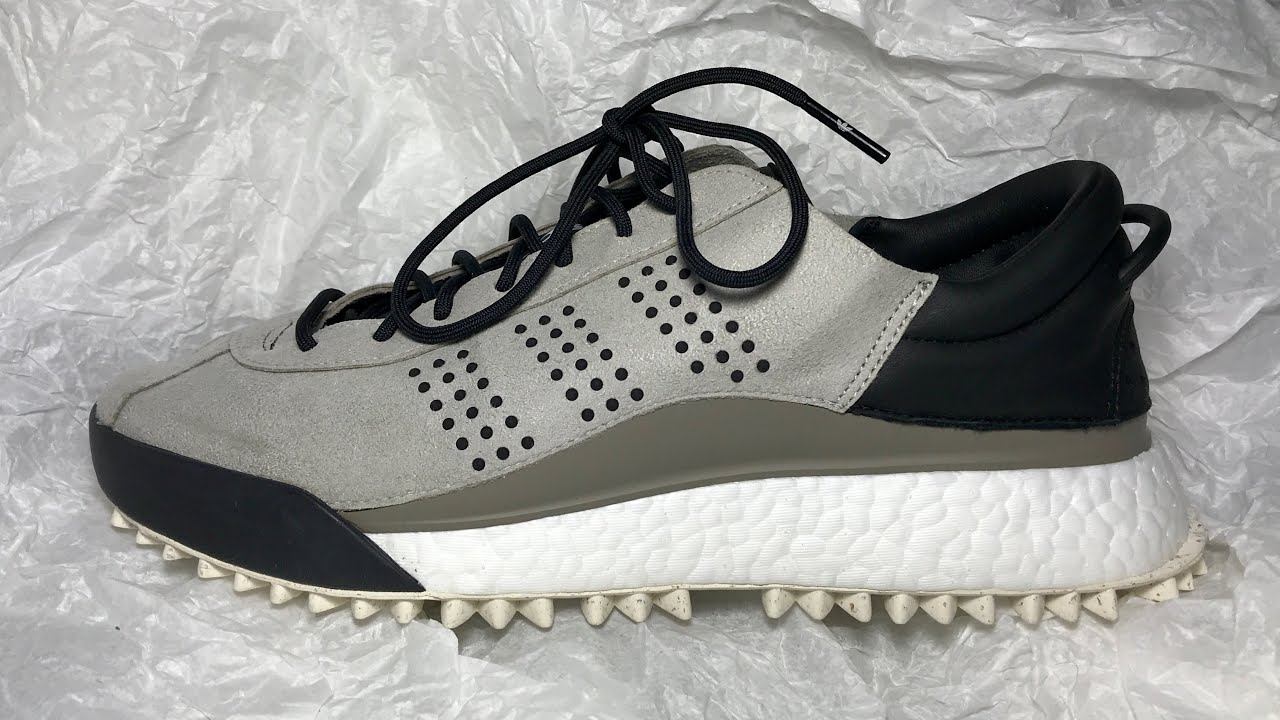 official photos 5e06e 4e8a2 Adidas Alexander Wang Hike Lo Grey Review (latest sizing update)