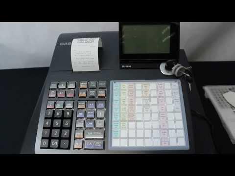 Casio SE-C450 SE-S400 SEC3500 SES3000 Cash Register Australian Setup