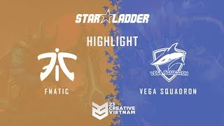 Highlight Starladder ImbaTV 2018 | Vega vs Fnatic - Bo 3