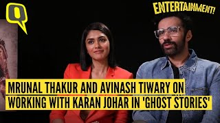 Mrunal Thakur and Avinash Tiwary on Working With Karan Johar in 'Ghost Stories' | The Quint