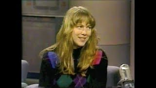 Meg Parsont Collection on Letterman, Part 1: 1990