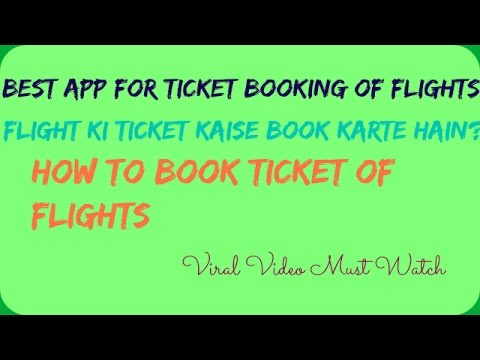Best app for ticket booking of ki ticket for Best booking site for flights