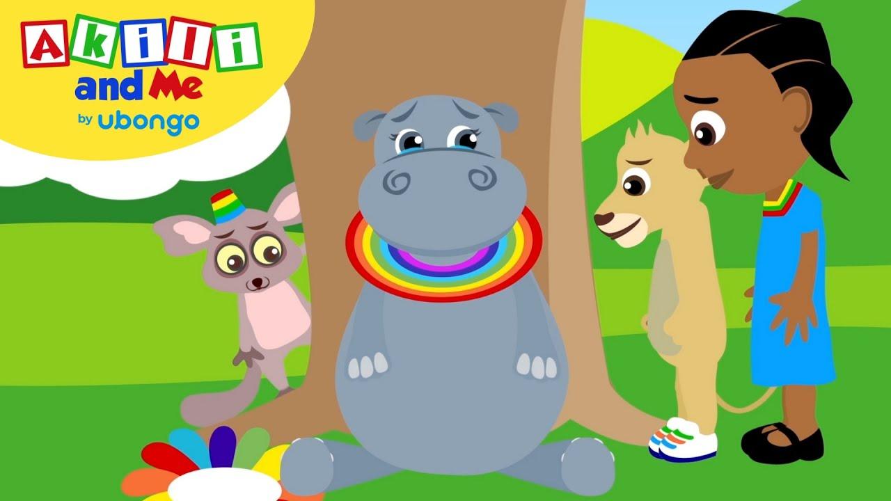 STORYTIME: Akili and Sad Hippo!   Akili and Me FULL STORY   Cartoons for Preschoolers