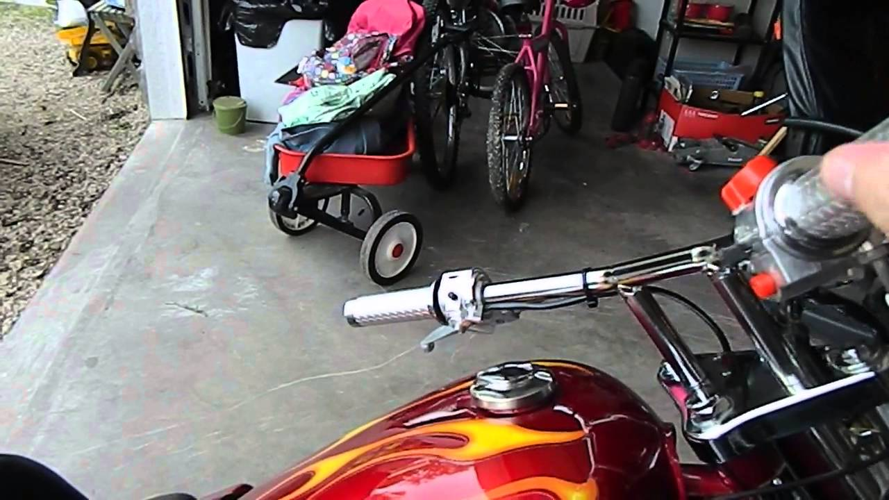 diablo mini chopper 110 cc 4speed manual [ 1280 x 720 Pixel ]