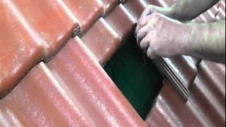 Mocowanie dachówek - klamra Braas