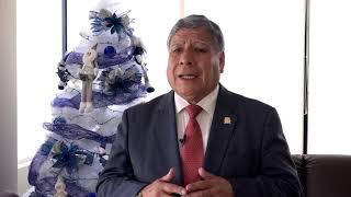 Tema:Saludo del rector de la UNMSM por Navidad y Año Nuevo