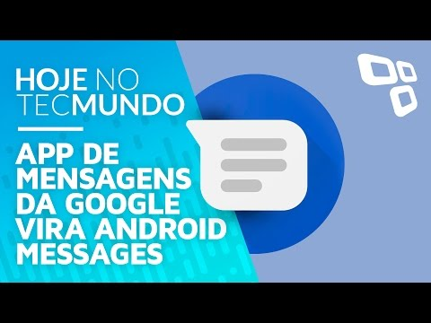 App de mensagens da Google vira Android Messages...