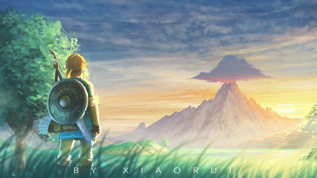 The Legend Of Zelda Breath Of The Wild Fanart Dynamic Wallpaper