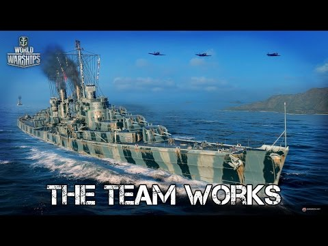 World of Warships - The Team Works
