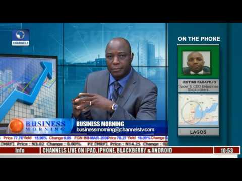 Business Morning: Analyst Expresses Excitement As Local Stocks Go On Steroid