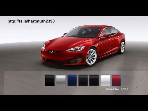 Der TESLA BMWi3 Elektrofahrzeugvergleich