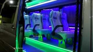 Переоборудование микроавтобусов. Mercedes Sprinter.KML Restyling Center. Georgia. Tbilisi(, 2014-10-20T17:12:47.000Z)