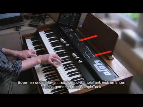 MOJO + SAMPLETANK / MIDI Designer  little test