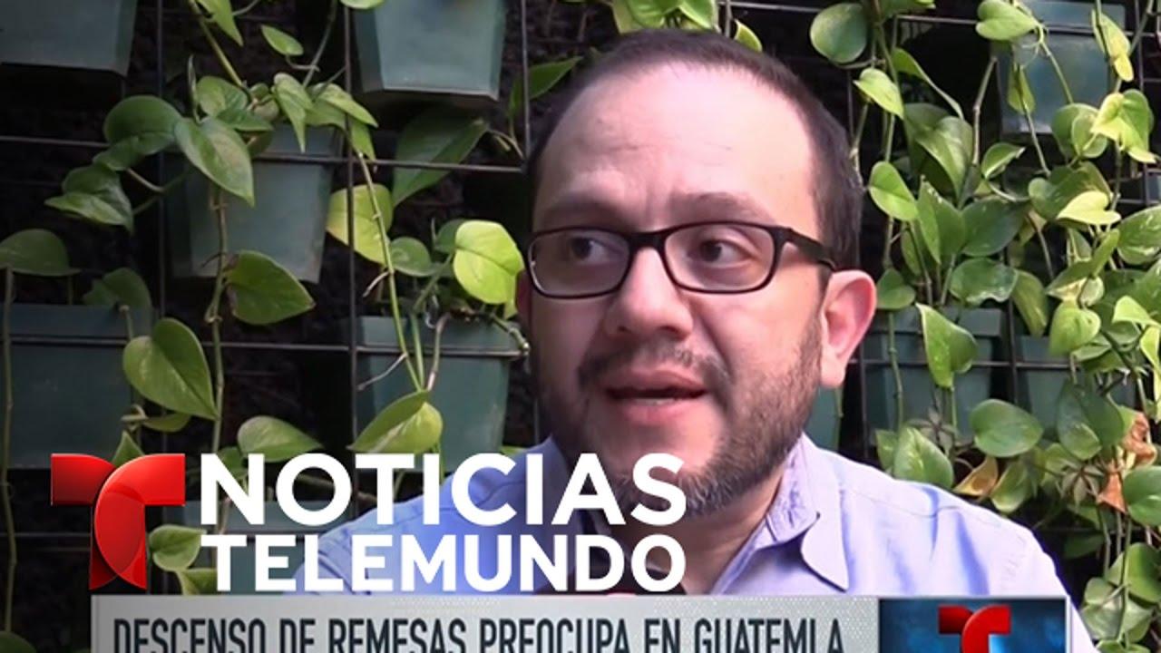 Descenso de remesas  preocupa a economía guatemalteca | Noticiero | Noticias Telemundo