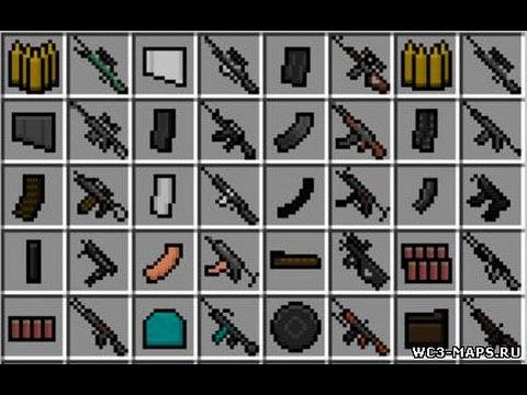 Скачать моды на майнкрафт 1.7.2 на оружие 3d