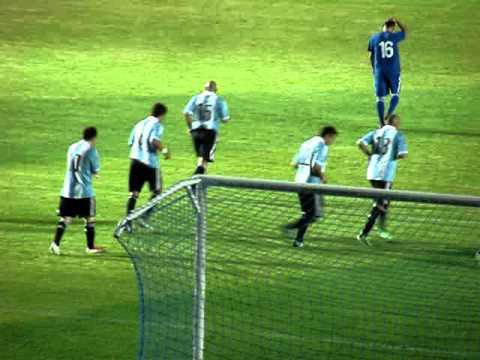 Tercer gol de Messi contra Guatemala en vivo