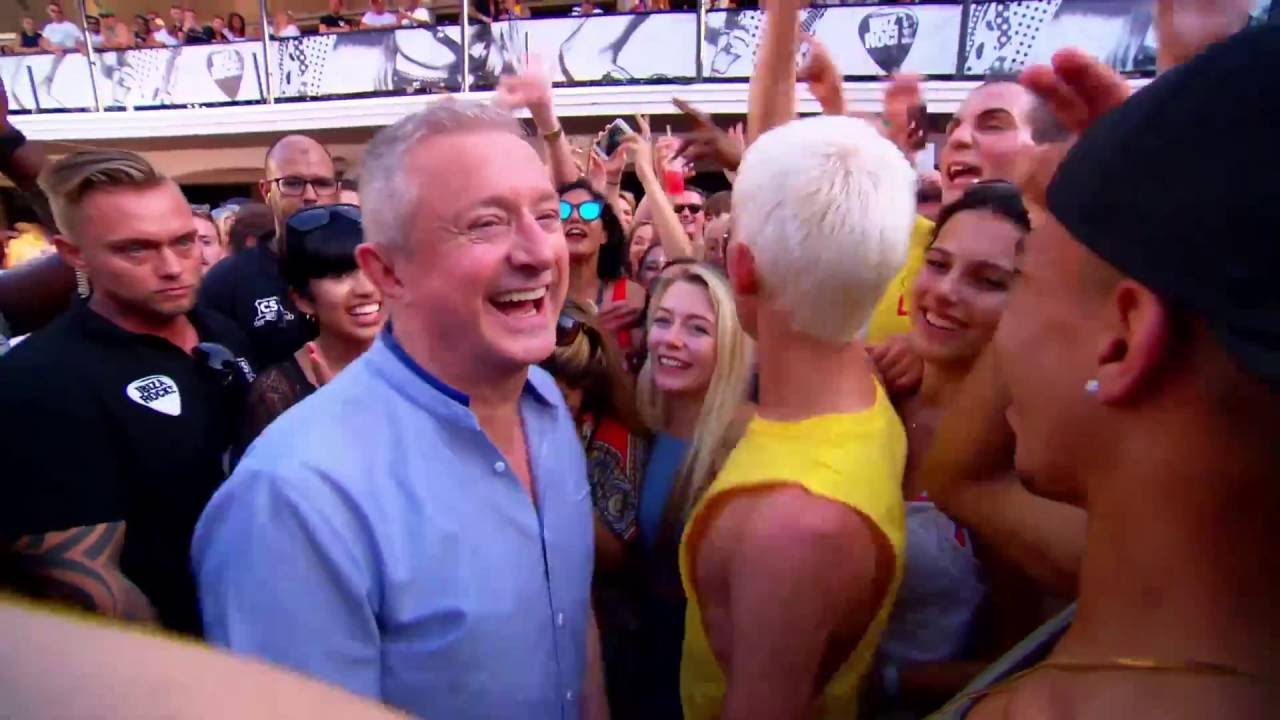 The Groups Turn Up With Craig David in Ibiza - The X Factor UK on AXS TV