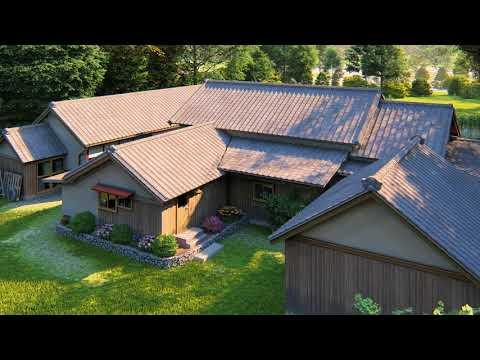 100 year-old Japanese house 3D CG animation - DJB ArchViz