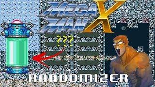 Mega Man X Randomizer First Run