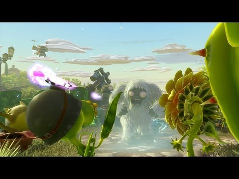 Plants vs. Zombies Garden Warfare Launch Trailer (ESRB 10+)