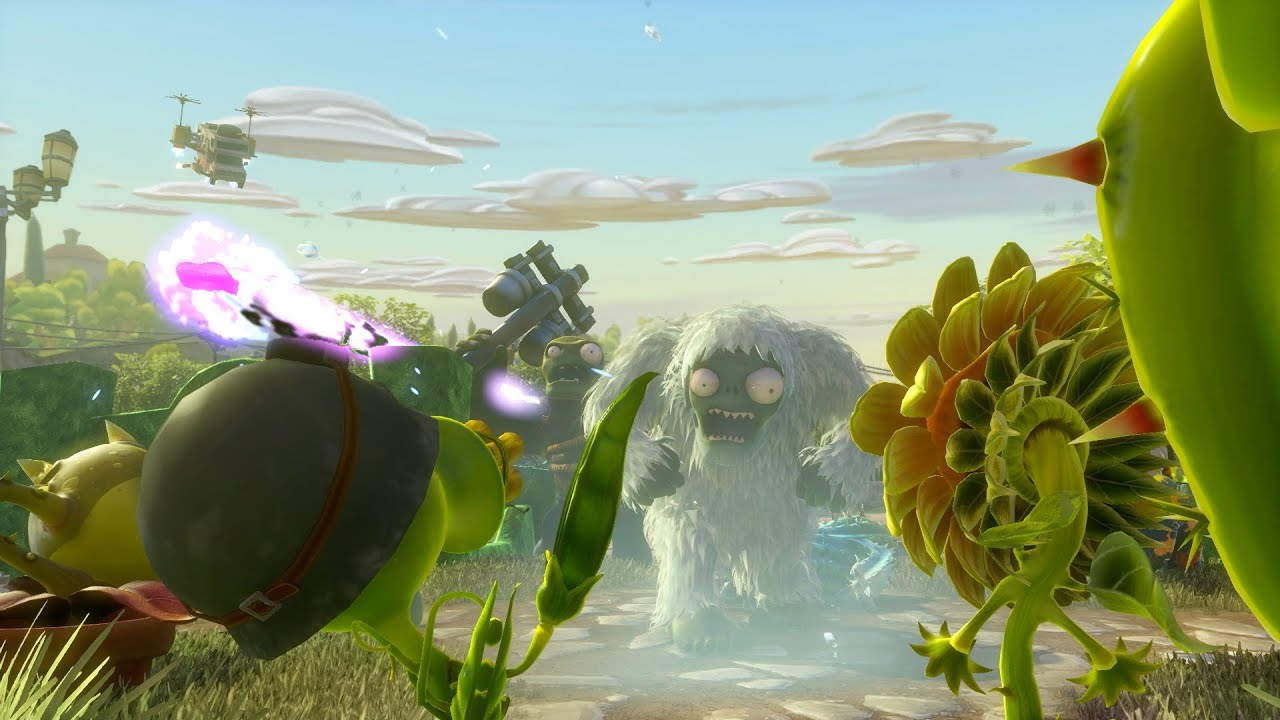 Plants Vs Zombies Garden Warfare Launch Trailer Esrb 10
