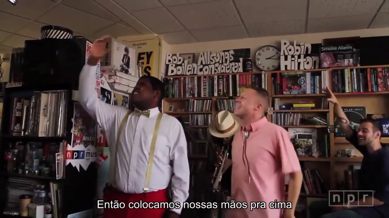 Can T Hold Us Legendado Live Npr Macklemore Ryan Lewis