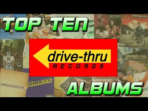 Top 10 Albums on Drive Thru Records