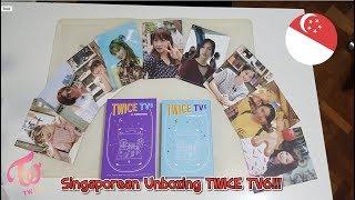 트와이스 TWICE TV6 Dvd + Photobook Unboxing | Comments from a Singaporean
