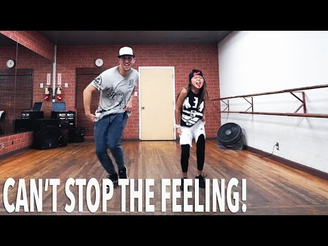 開始Youtube練舞:Can't Stop The Feeling-Justin Timberlake | Dance Mirror