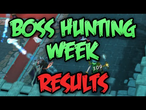 Boss Hunting Week: Day 7 - Hard Mode Zammy + Results! [Runescape 2015]