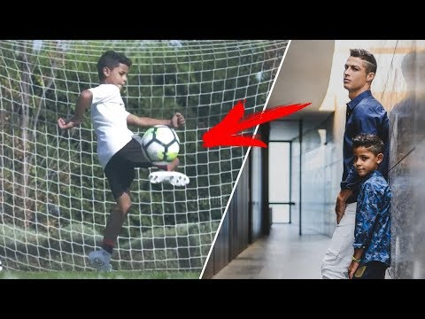 Cristiano Ronaldo Jr ● Ballon d'Or 2030?! Crazy Skills & Goals 2017 HD
