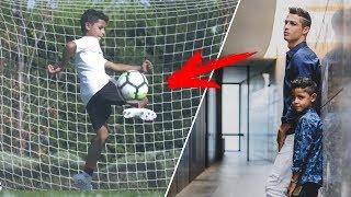 Cristiano Ronaldo Jr ● Ballon d'Or 2030?! Crazy Skills & Goals 2018 HD