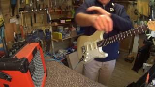 reloved guitars' 'aristocat' - encore (india) strat refurbishment - youtube  youtube
