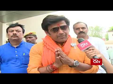 People are very happy with CM yogi and PM Modi says, BJP's Gorakhpur candidate Ravi Kishan
