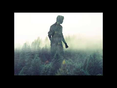 Photoshop speed art image convert into forest man..