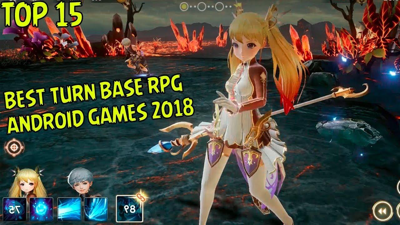 15 Games Tunrbase RPG Android Terbaik I Best Turn Base 2018
