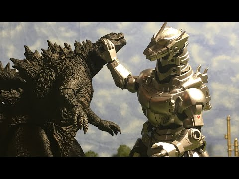 Godzilla 2019 vs Kiryu (Stop Motion)