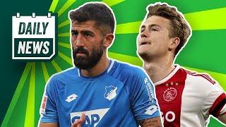 Demirbay zu Bayer Leverkusen! Neues Bayern-Trikot geleaked? Bleibt Hazard bei Gladbach? Daily News