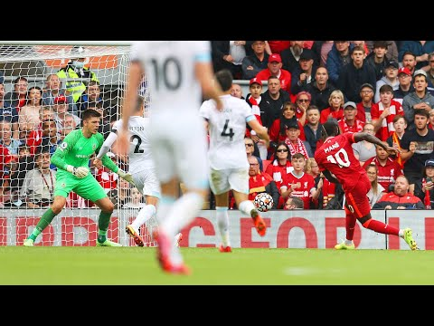 Sadio Mane finishes off a brilliant goal for Team RAW |  All angles
