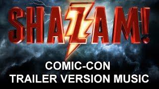 SHAZAM! Comic-Con Trailer Music Version | Full & Proper Movie Teaser Trailer Theme Song