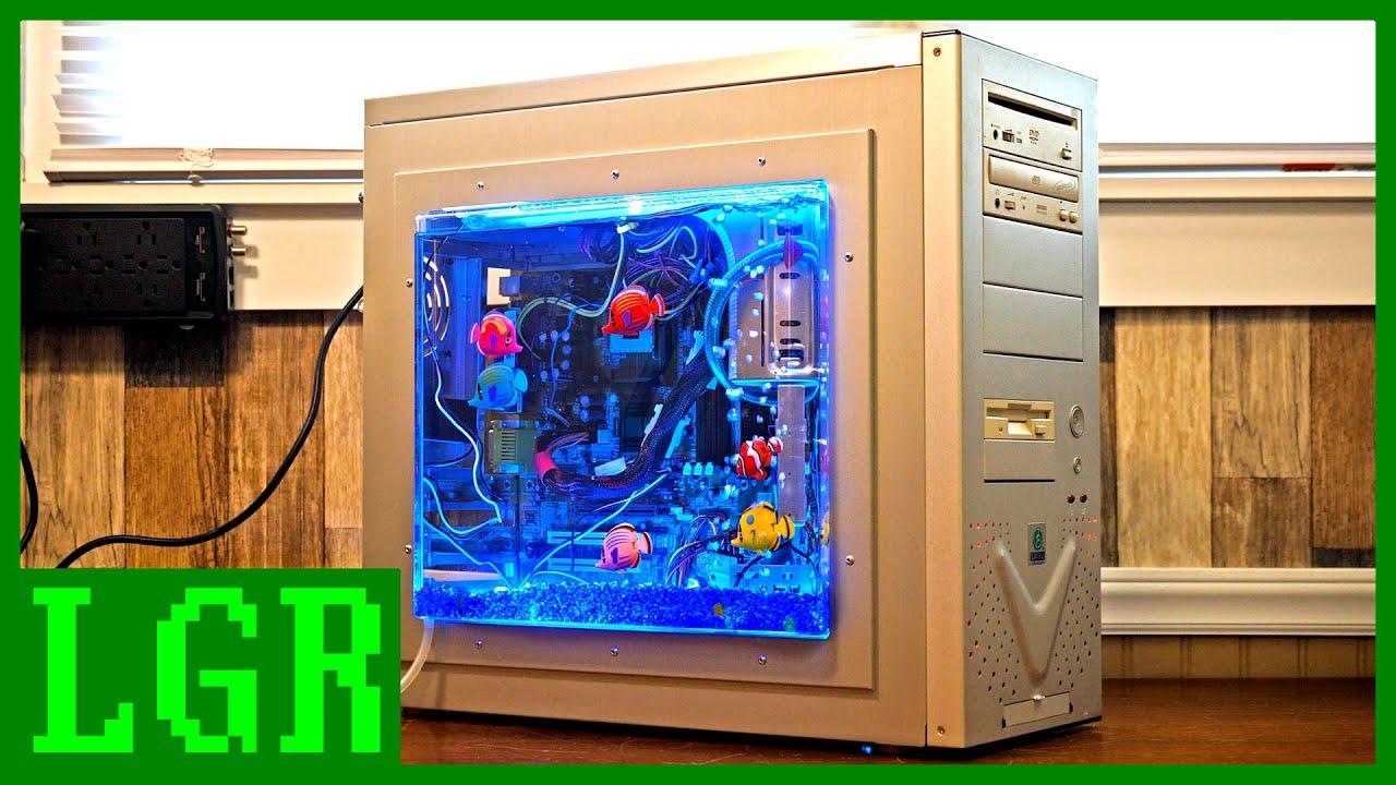 The Lian Li Aquarium PC Case from 2003!