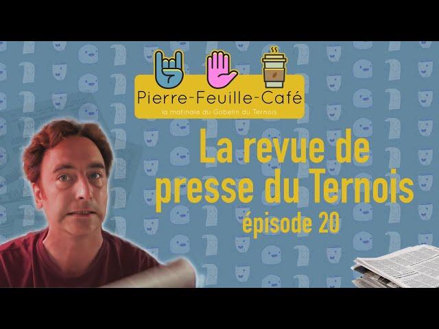 Pierre, feuille, café #20 - La revue de presse du Gobelin
