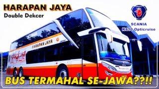 BUS TERMAHAL SE-JAWA?! TRIP REPORT Naik Bus Tingkat HARAPAN JAYA TERNYAMAN