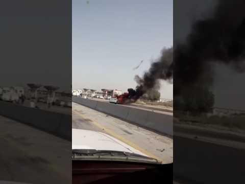 SAUDI ARABIA ACCIDENT CAUGHT ON CAMERA