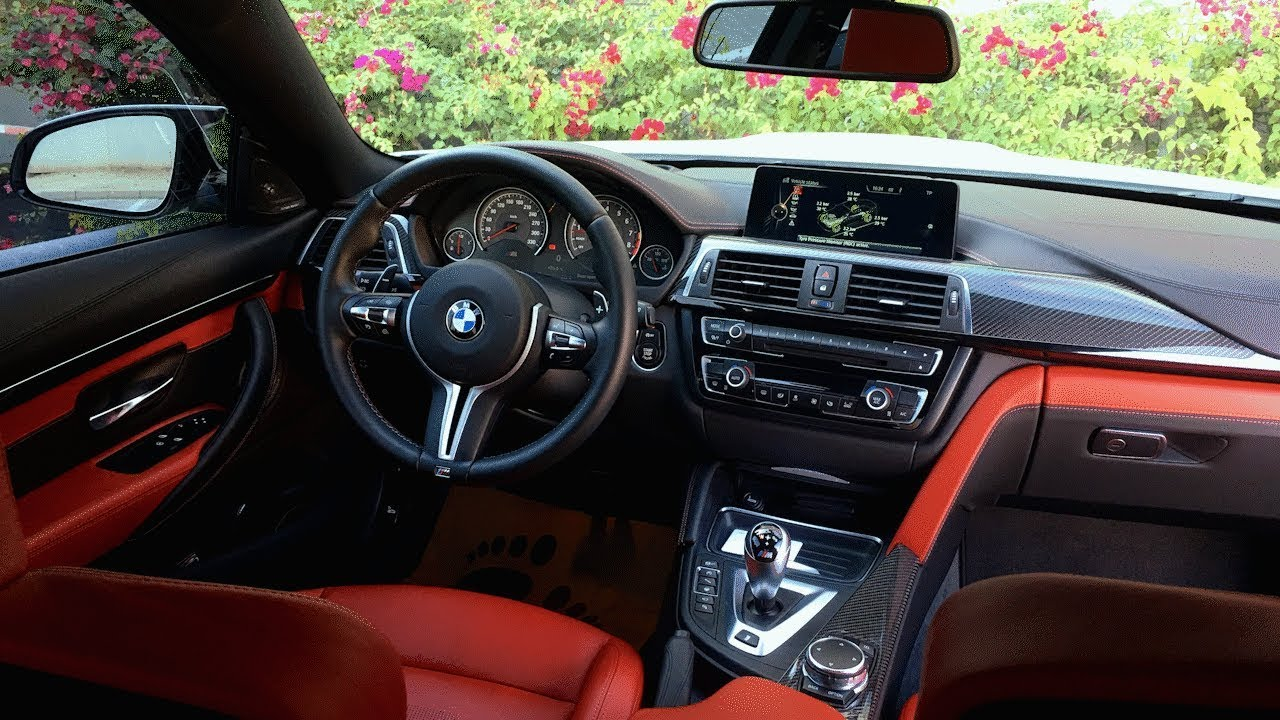 Bmw M4 Detailed Interior Review Youtube
