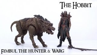 Video Review of The Hobbit: Fimbul The Hunter & Warg