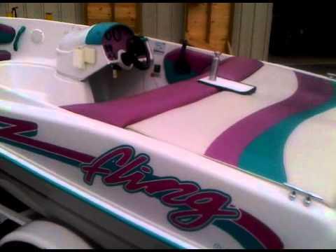 Sold Four Winns Fling 115hp 14 Jet Boat