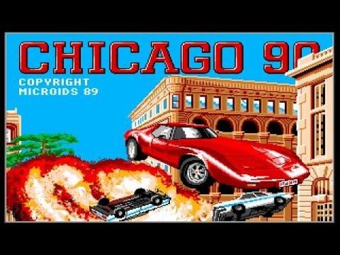 Chicago 90 gameplay (PC Game, 1989) thumbnail